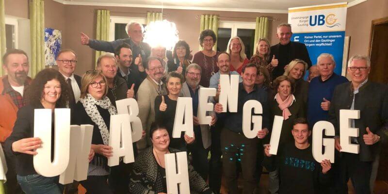 Ein starkes Team für Gauting – 16 Frauen und 14 Männer kandidieren für Gautings Unabhängige bei der Gemeinderatswahl!
